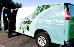 Roseville Press Tribune features Always Green Clean