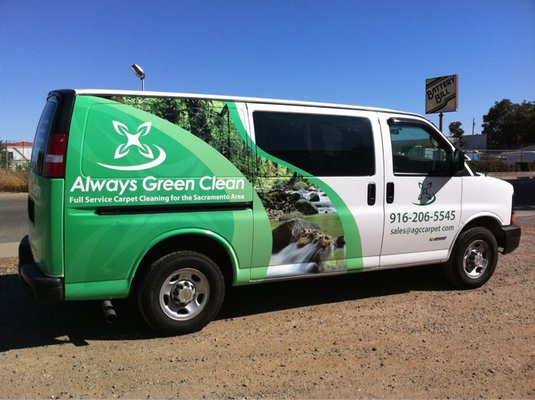 New Carpet Cleaning Van