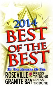 Best Carpet Cleaning in Roseville and Granite Bay 4 years in a row!!!